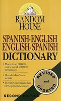 Book Random House Spanish-English English-Spanish Dictionary by Random House