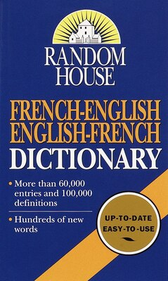 Book Random House French-English English-French Dictionary by Random House