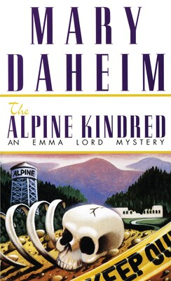 Book The Alpine Kindred: An Emma Lord Mystery by Mary Daheim