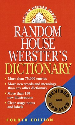 Book Random House Webster's Dictionary, Revised Edition by Random House