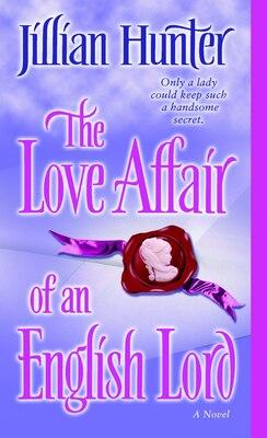 Book The Love Affair of an English Lord: A Novel by Jillian Hunter