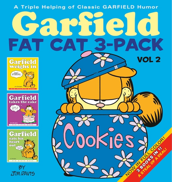 Garfield Fat Cat 3-pack #2: A Triple Helping Of Classic Garfield Humor by Jim Davis