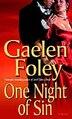 One Night Of Sin: A Novel by Gaelen Foley