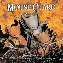 Book Mouse Guard: Fall 1152 by David Petersen