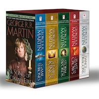 George R. R. Martin's A Game Of Thrones 5-book Boxed Set (song Of Ice And Fire Series): A Game Of…