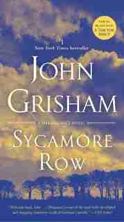 Sycamore Row: A Jake Brigance Novel de John Grisham
