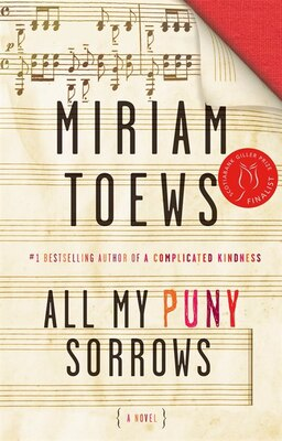 Book All My Puny Sorrows by Miriam Toews