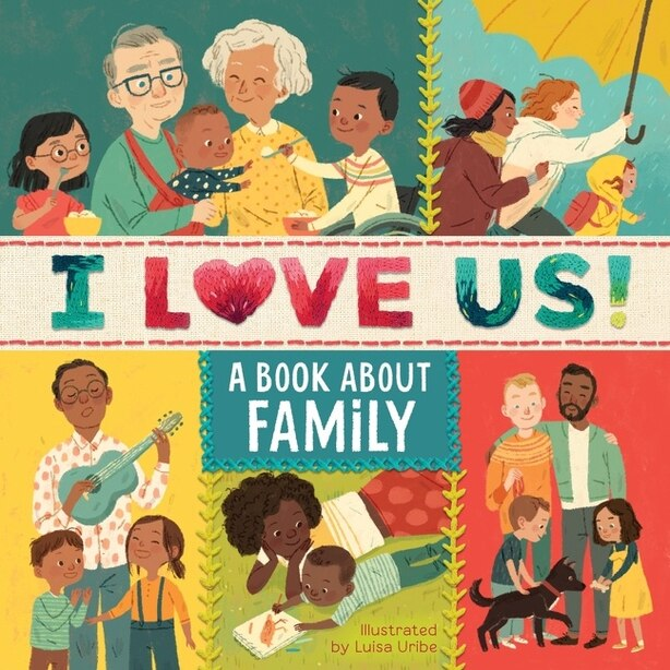 I Love Us: A Book About Family (with Mirror And Fill-in Family Tree) by Houghton Mifflin Harcourt