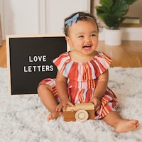 Love Letters (padded Board Book With Fill-in Bookplate)