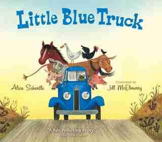 Little Blue Truck Board Book by Alice Schertle