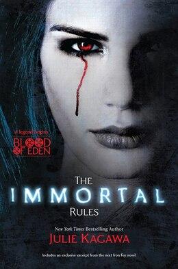 Book The Immortal Rules by Julie Kagawa