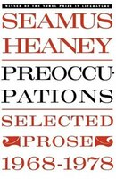 Book Preoccupations: Selected Prose, 1968-1978 by Seamus Heaney