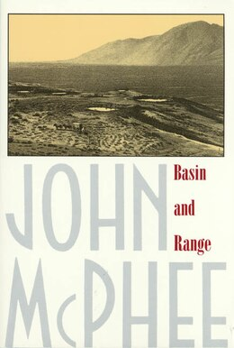Book Basin And Range by John McPhee