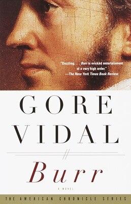 Book Burr: A Novel by Gore Vidal