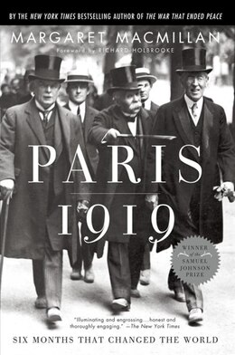 Book Paris 1919: Six Months That Changed The World by Margaret Macmillan