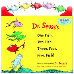 Book One Fish, Two Fish, Three, Four, Five Fish by Seuss