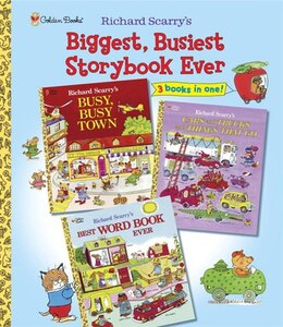 Book Richard Scarry's Biggest, Busiest Storybook Ever by Richard Scarry