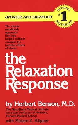Book The Relaxation Response by Herbert, M.D. Benson