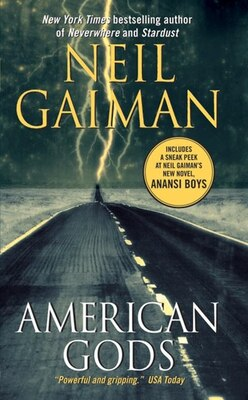 Book American Gods by Neil Gaiman