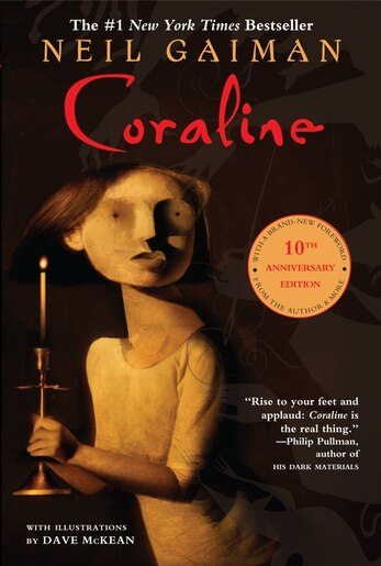 Coraline 10th Anniversary Edition, Book by Neil Gaiman ...