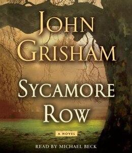 Book Sycamore Row by John Grisham