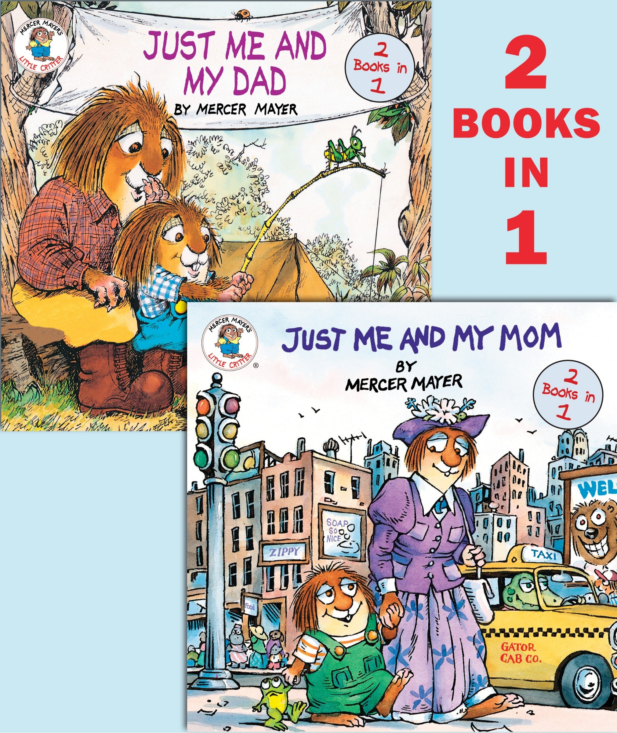 Book Just Me And My Mom/just Me And My Dad (little Critter) by Mercer Mayer