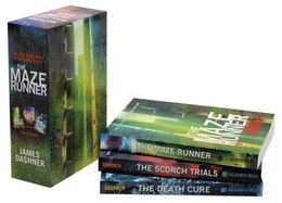 Book The Maze Runner Trilogy (maze Runner) by James Dashner