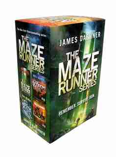 The Maze Runner Series (4-book) by James Dashner