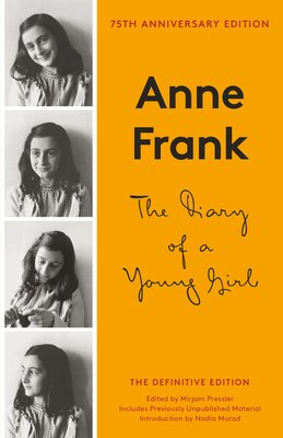 Book The Diary Of A Young Girl by Anne Frank