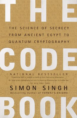 Book The Code Book: The Science of Secrecy from Ancient Egypt to Quantum Cryptography by Simon Singh