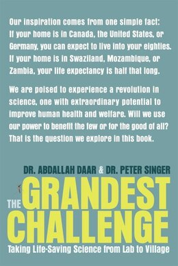 Book The Grandest Challenge: Taking Life-saving Science From Lab To Village by Abdallah Daar