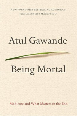Book Being Mortal by Atul Gawande
