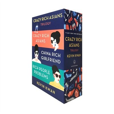 The Crazy Rich Asians Trilogy Box Set by Kevin Kwan