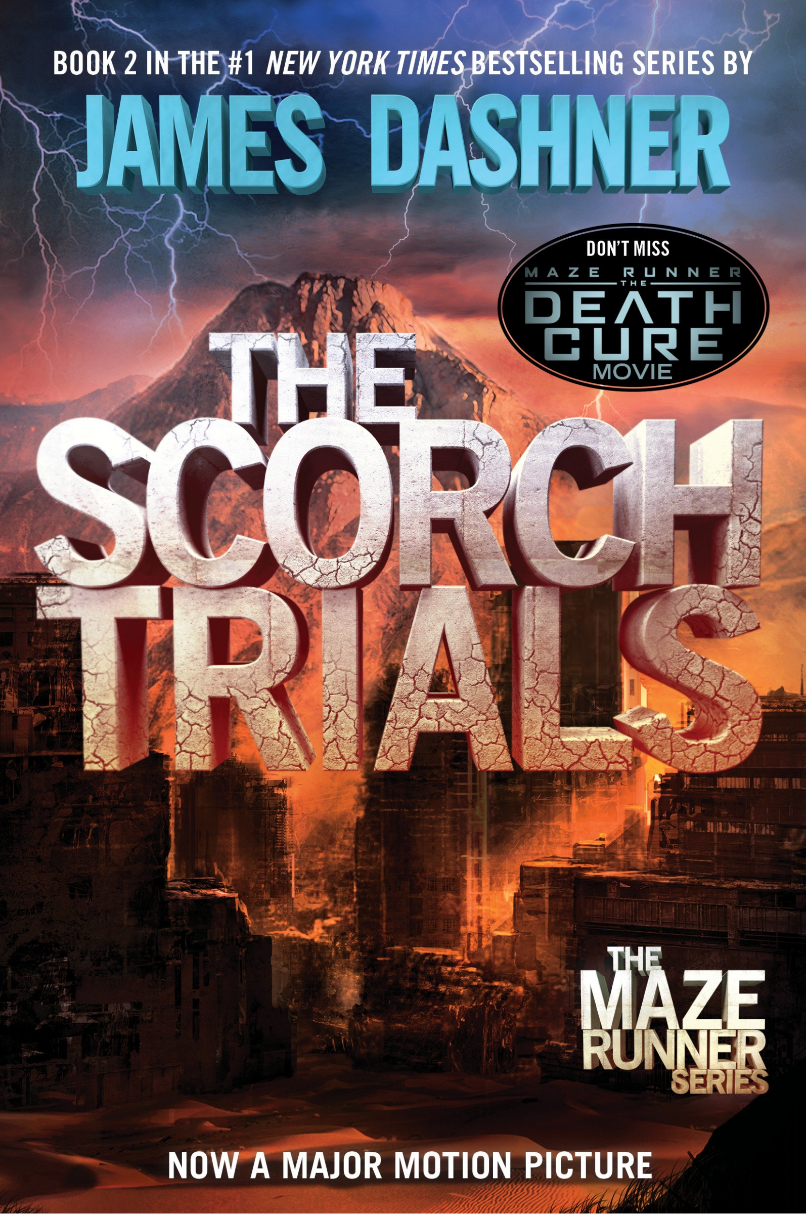 Book The Scorch Trials (maze Runner, Book Two) by James Dashner
