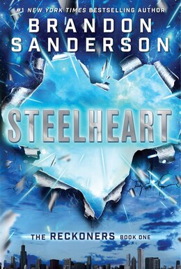Book Steelheart by Brandon Sanderson