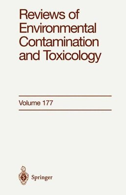 Book Reviews of Environmental Contamination and Toxicology: Continuation of Residue Reviews by George Ware