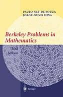 Book Berkeley Problems in Mathematics: by Paulo Ney de Souza