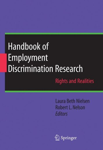 employee handbook non discrimination section essay Non-discrimination issues that must be addressed in an employee enchiridion are age sex race faith national beginning and disablement harassment is besides a large issue that needs to be addressed and this will cover all signifiers of torment non merely sexual torment.