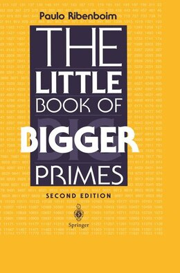 Book The Little Book of Bigger Primes by Paulo Ribenboim
