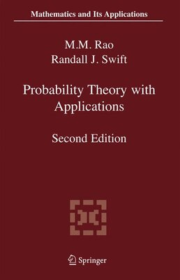 Book Probability Theory with Applications by Malempati M. Rao