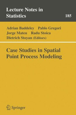 Book Case Studies in Spatial Point Process Modeling by Adrian Baddeley