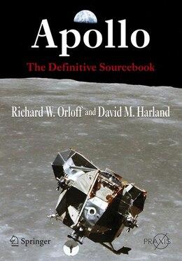 Book Apollo: The Definitive Sourcebook by Richard W. Orloff