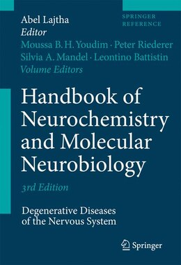 Book Handbook of Neurochemistry and Molecular Neurobiology: Degenerative Diseases of the Nervous System by Moussa B.H. Youdim