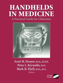Book Handhelds in Medicine: A Practical Guide for Clinicians by Scott M. Strayer