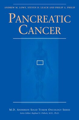 Book Pancreatic Cancer by Andrew M. Lowy