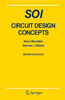 Book SOI Circuit Design Concepts by Kerry Bernstein