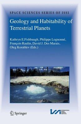 Book Geology and Habitability of Terrestrial Planets by Kathryn E. Fishbaugh