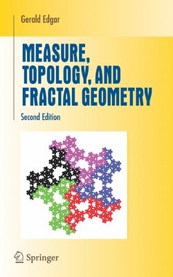 Book Measure, Topology, and Fractal Geometry by Gerald Edgar
