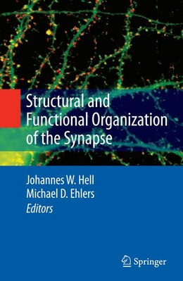 Book Structural and Functional Organization of the Synapse by Johannes W. Hell