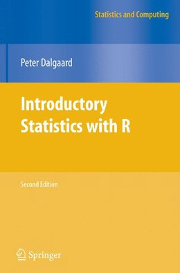 Book Introductory Statistics with R by Peter Dalgaard